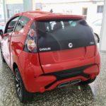 Minicar Casalini M20 nuevo vista trasera